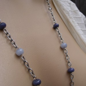 Very Versatile Long Or Short Necklace With A Little Bird