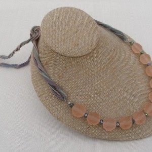 Delicate Pale Pink Necklace
