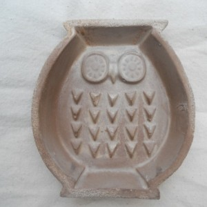 Rustic Owl Soap Dish