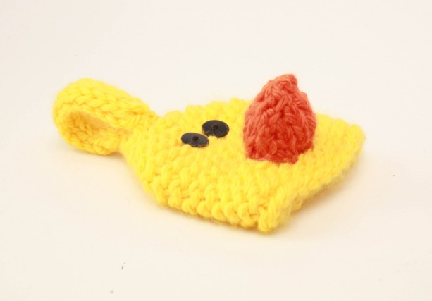 Easter baby chick baby hat for newborn photo prop