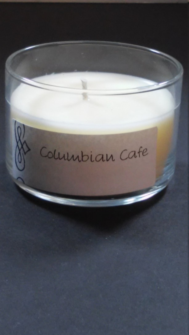 Columbian Cafe 4oz Scented Candle by Sweet Amenity Fragrances