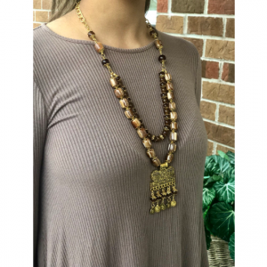 Bib necklace- necklace strands- boho necklace- ethnic- tribal necklace- unique necklace- waterfall necklace- collar necklace- layered