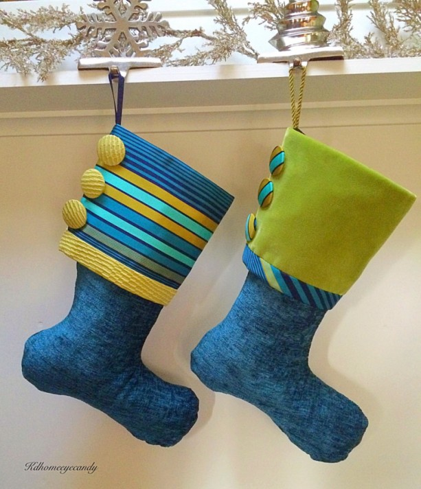 blue christmas stocking blue and green stocking turquoise stocking turquoise and green stocking - Blue Christmas Stocking