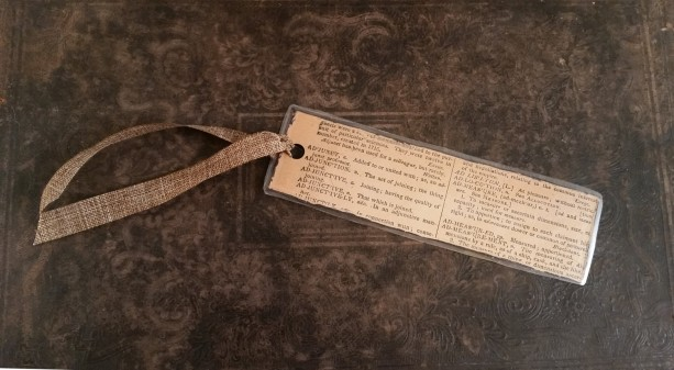 Antique Dictionary Bookmark - Word Bookmark, Nerd Bookmark, Teacher Bookmark, Graduation Gift, Bookworm, Custom Bookmark, Book mark,