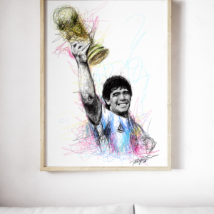 Diego Maradona 1986 World Cup Winner