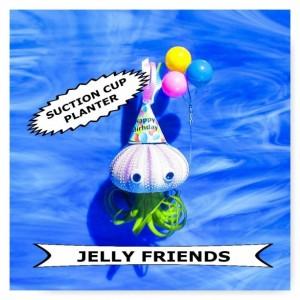 ini Planter, Birthday gift, Sea Urchin, Wall Planter, shell planter, Balloons, Air plant, Plant lovers gift, air plant holder, air plant,