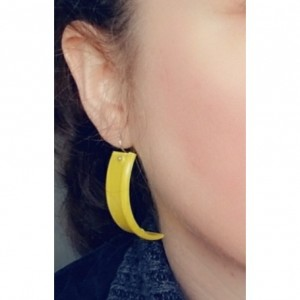 Yellow Play-doh Earrings