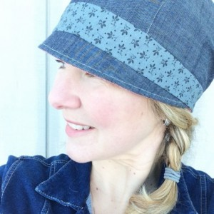 Women's Cloche Hat - Reversible Spring Hat for Women