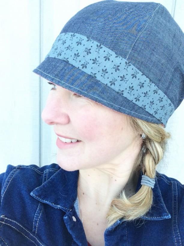 Women's Cloche Hat - Reversible Spring Hat for Women