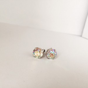 Genuine swarovski elements, 8mm jewelry set, wedding jewelry set, bridal jewelry set, colors of 2016, spring accessories, crystal necklace