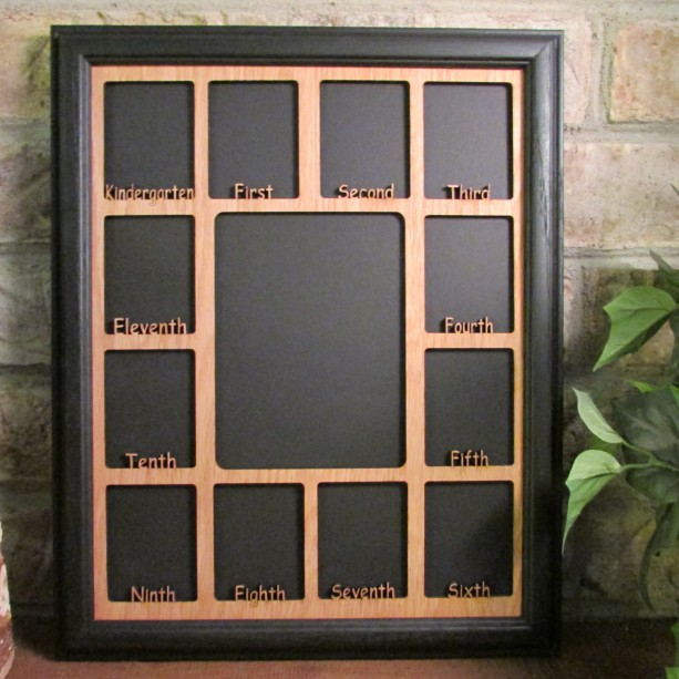 School Years Picture Frame WITH NAME Graduation Full Grades | aftcra