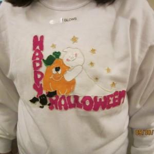 Ghost Hugging Pumpkin