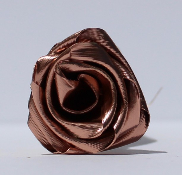Rose Gold Roses in my Style 1 Rose