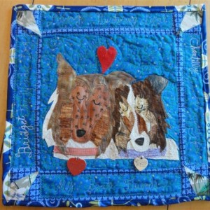 Beloved Buddy Memory Quilt- a unique and vibrant way to remember your loved one -  (SMALL)