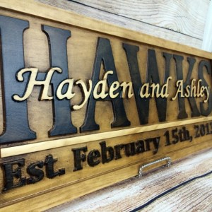 Wedding Photo Props, Personalized Wood Sign, Fall Wedding Sign, Customized Wood Sign, Engagement Prop, Rustic Wood Sign, Vintage Wedding