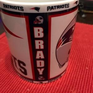 Custom Made New England Patriots  Coffee Mug