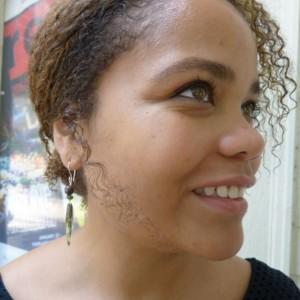 Kyanite and dragon's blood jasper earrings