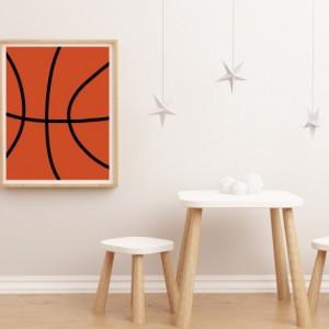 Basketball Print - 8x10