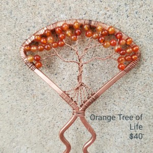 Tree of Life Hair Pins/Forks