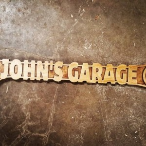 Wood Custom Wrench Sign (24 Inch), Multiple Finishes, Personalized