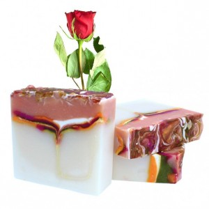 Rose Scented Soap Natural Soap | THREE Large Bars