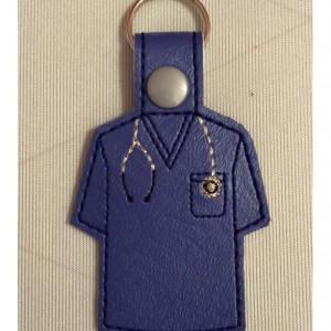 Medical Scrubs Key Fob