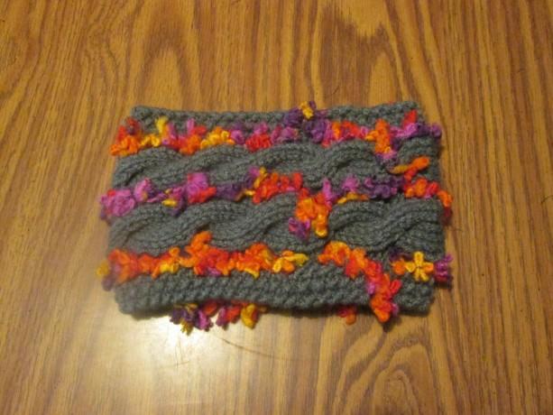 Hand Knit Headband/ Earmuff- Farm Market