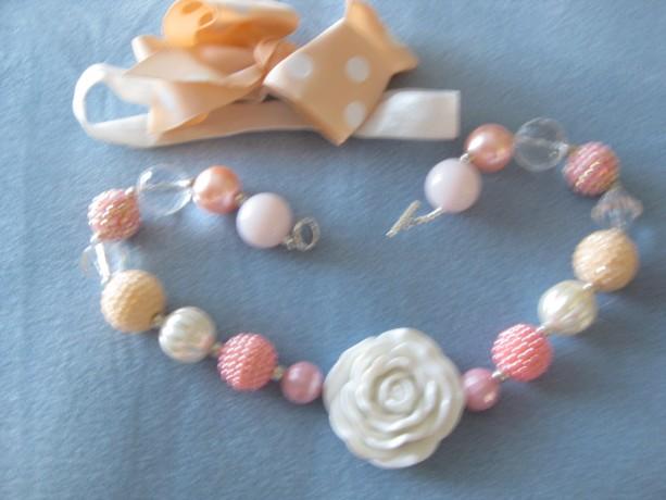 F9 Chunky Necklace, Kids Necklace, Childrens Necklace