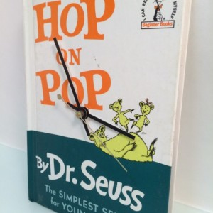 Children's Book Clock Dr Seuss classic