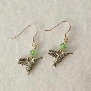 Hummingbird Earrings - Free shipping!