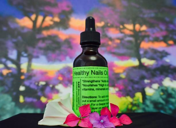 Healthy Nails Oil-Raw & Organic-2 oz.