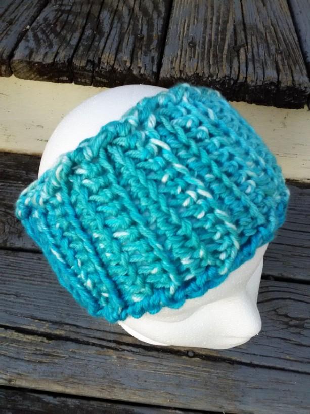 Crochet headband, headwrap, earwarmer