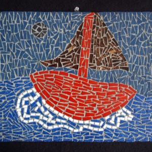Seascape Mosaic Art