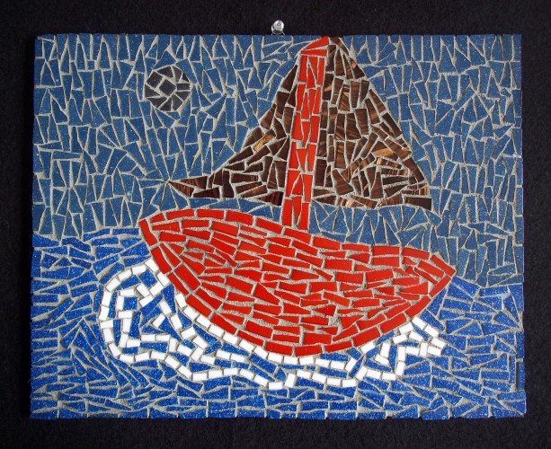 Seascape Mosaic Art