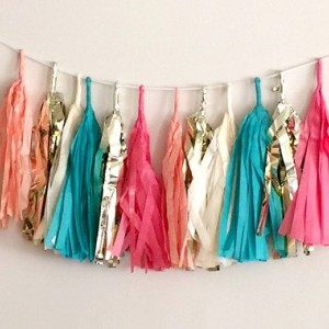 Jeweled Tassel Garland