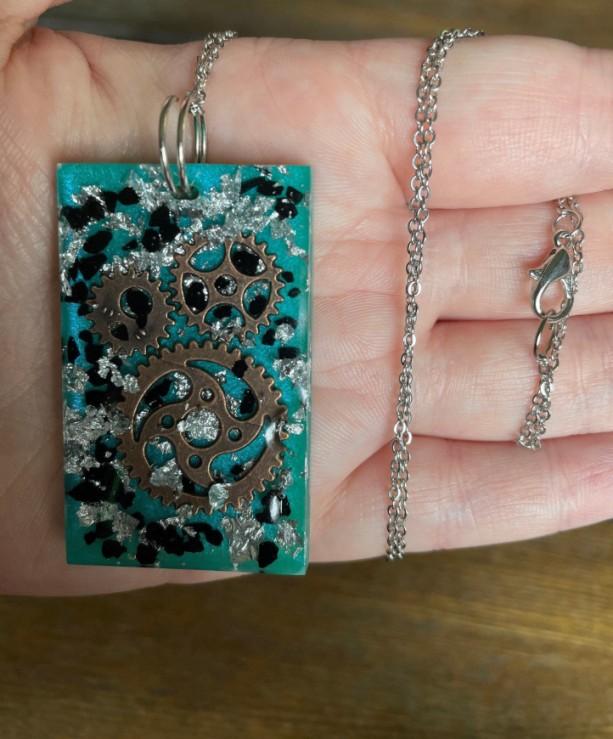 Steampunk Pendant Necklace