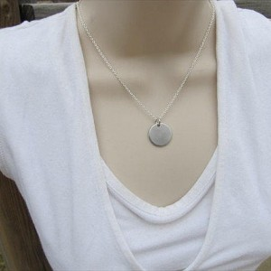 """Make It Work Hand-Stamped Inspiration Necklace- """"make it work"""" with an accent bead of your choice"""