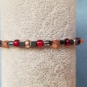 hemalyke and copper star bracelet