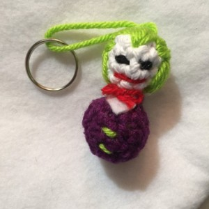 Crochet Key-chain ornament clown