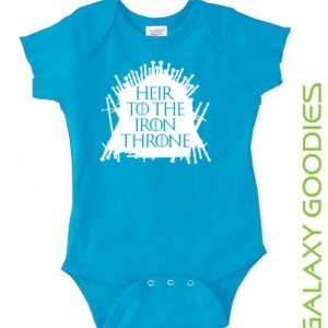 Heir To The iron Throne - Game of Thrones Baby Onesie