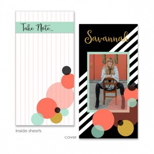 Bauble Up 4x8 Notepad