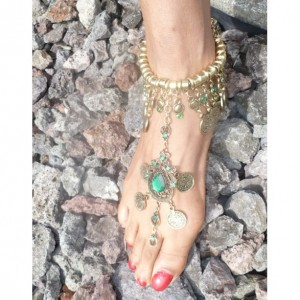 Barefoot Bohemian Style Ankle Foot Sandal