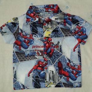 NEW Handmade VHTF Spiderman Blue Halter Dress Custom Sz 12M-14Yrs