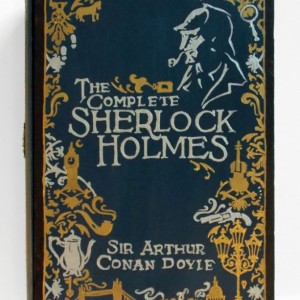 The Complete Sherlock Holmes- unique & hand decorated box