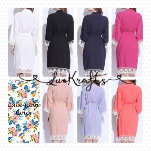 Knee length Cotton Maternity Robe- Delivery Robe -Robe for Feeding- Giving Birth Robe -Baby shower gift