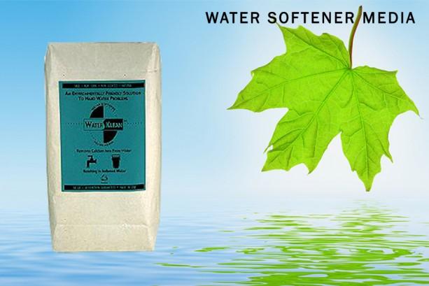 WATERKLEAN Natural Water Softener Filter Media: 2 lb Safe, Non-Toxic  & EcoSmart