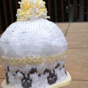 Bunny Baby Hat
