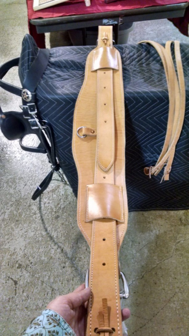 Heavy Duty Rear Flank Cinch for Horse Saddle