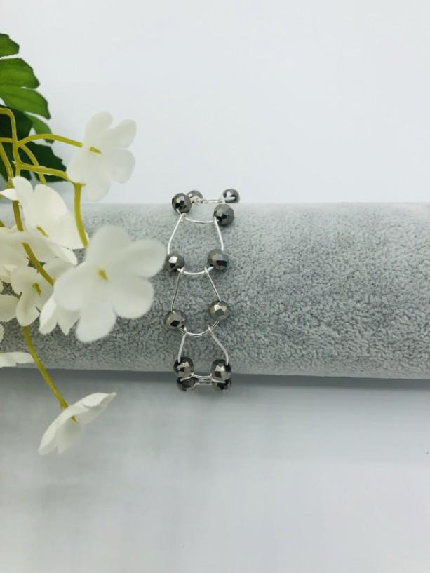 "7"" Silver Linked Bracelet"