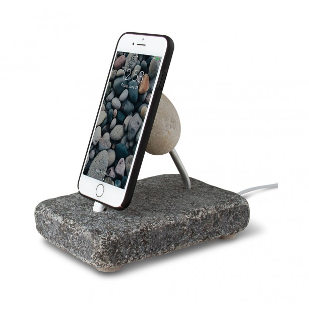 Rock Dock - Natural Stone Charging Stand